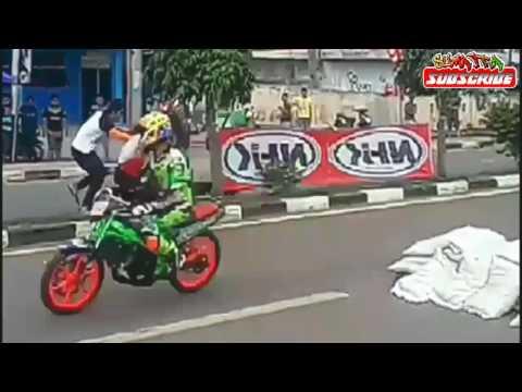 ROAD RACE MERAUKE BERDUKA_Kecelakaan Tragis Saat Balapan.