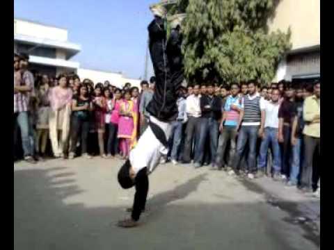 Street Dancing By Gurjeet (VCE) , T.I.T.S, Bhiwani