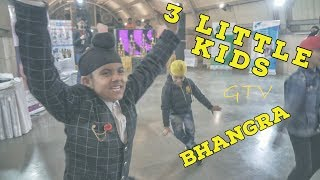 G Sidhu CANDLELIGHT - 3 young #Bhangra stars dancing at Dilli Haat in New Delhi India