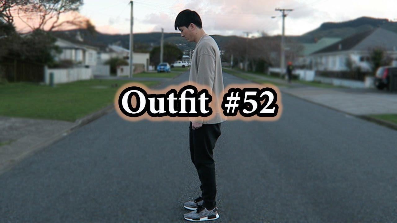 281f0e8c91c2a Cozy Fit of the Day w  Oversized Sweatshirt   NMD Glitch