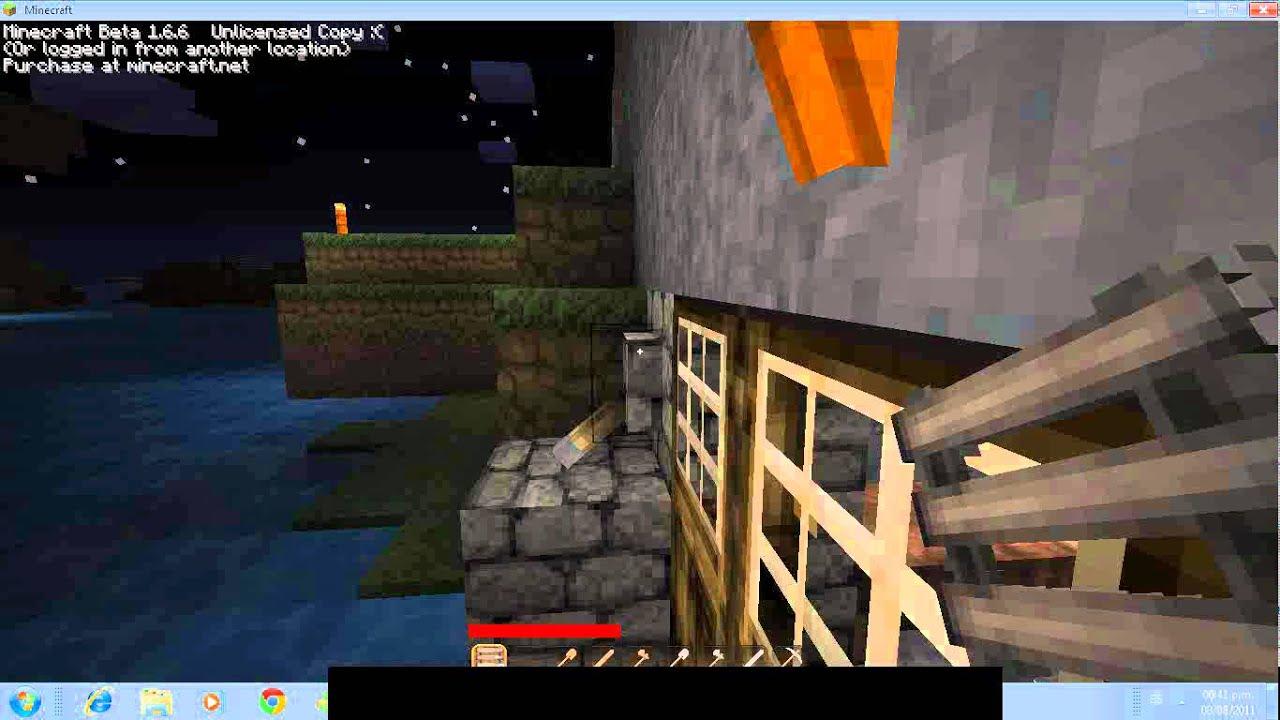 Minecraft como hacer escaleras youtube - Como hacer escaleras ...
