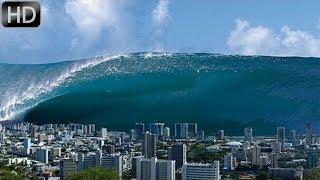 Цунами – самые большие и мощные океанические волны, которые сметают все на своём пути.