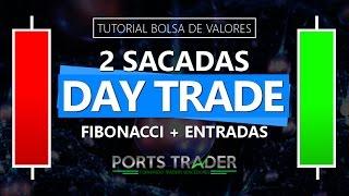 2 Sacadas Para Day Trades Usando Fibonacci E Sinais De Entrada - Aula Grátis