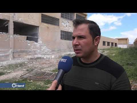 ميليشيا أسد الطائفية تصعد من قصفها على بلدة أبو حبة شرق إدلب - سوريا