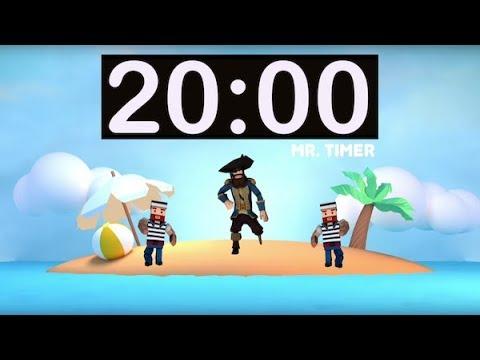 20 Minute Timer With Music! Timer For Kids, Classroom, Homework, Kindergarten, Preschool, Fun!