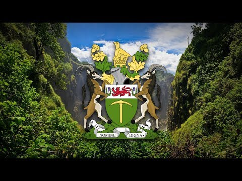 """Republic of Rhodesia (1965–1979) National anthem """"Rise, O Voices of Rhodesia"""""""