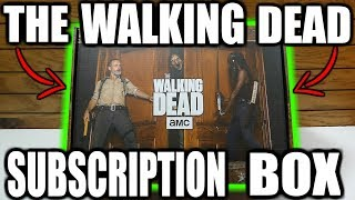 The Walking Dead SUPPLY DROP! NEW Subscription Box