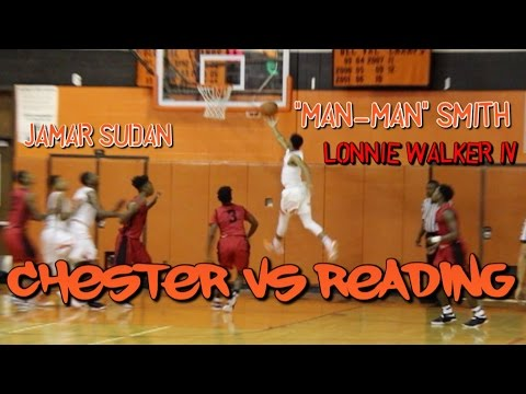 "CHESTER vs READING (12/20/16) JAMAR SUDAN, MICHAEL ""MAN-MAN"" SMITH, LONNIE WALKER IV"