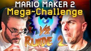 Kriegt Ilyass seine Rache? Die Mario Maker 2 Mega-Challenge mit Gregor vs. Ilyass Runde #2
