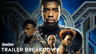 Black Panther - Official Trailer Breakdown | Explained in HINDI