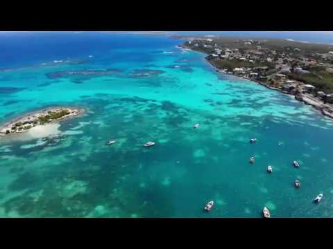 Anguilla 4K Drone Footage 2019 - Flying Along The Caribbean