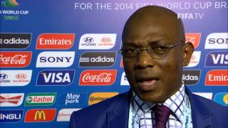 ▶ Nigeria's Stephen KESHI Final Draw reaction