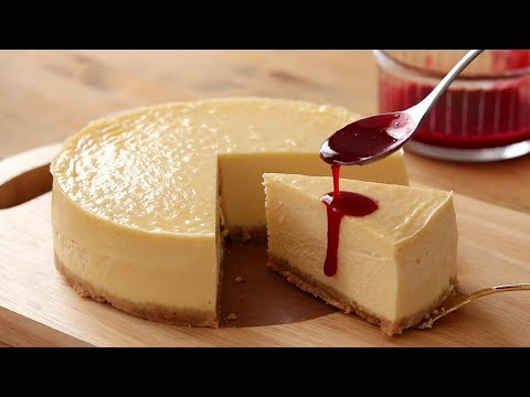 濃厚ニューヨークチーズケーキの作り方 New York Cheesecake