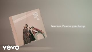 Gamaliel Audrey Cantika - Never Leave Ya (Official Lyric Video)