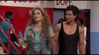 """Jimmy Fallon Recreates """"Saved By the Bell"""" With Original Cast  