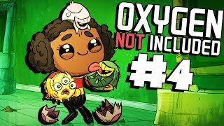 Hatching Rare Hatchlings! - Ep. 4 - Oxygen Not Included Ranching Upgrade Mark II - ONI Gameplay