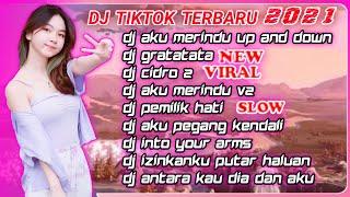 DJ JEDAG JEDUG FULL BASS - Dj Tiktok Terbaru 2021 - DJ AKU MERINDU - DJ GRATATATA