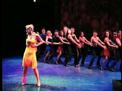 """Deborah Yates and Boyd Gaines in the Broadway Dance Show """"Contact"""""""