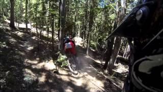 Mountain biking Sunrise Ski Resort!  Part 1