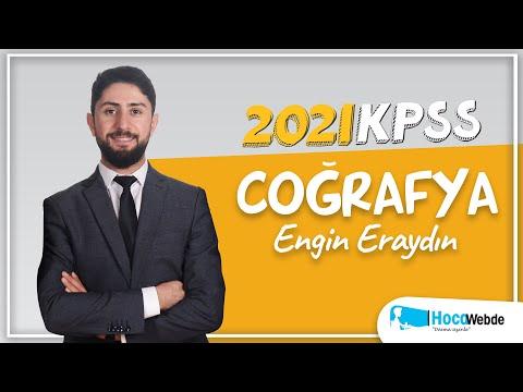 25) Engin ERAYDIN 2021 KPSS COĞRAFYA KONU ANLATIMI (TÜRKİYE'DE NÜFUS, YERLEŞME V