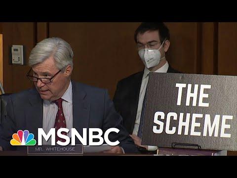 Sen. Whitehouse Gives Presentation On 'Dark Money' Influence On Supreme Court Nomination   MSNBC