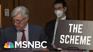 Sen. Whitehouse Gives Presentation On 'Dark Money' Influence On Supreme Court Nomination | MSNBC
