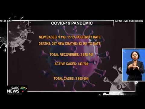 COVID-19 cases in South Africa surpass the 2.8 million mark
