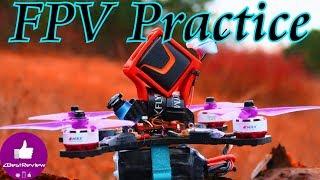 ✔ FPV Школа Zbestreview - Практика FPV Freestyle! Diatone GT2, Foxeer Box (Super View)