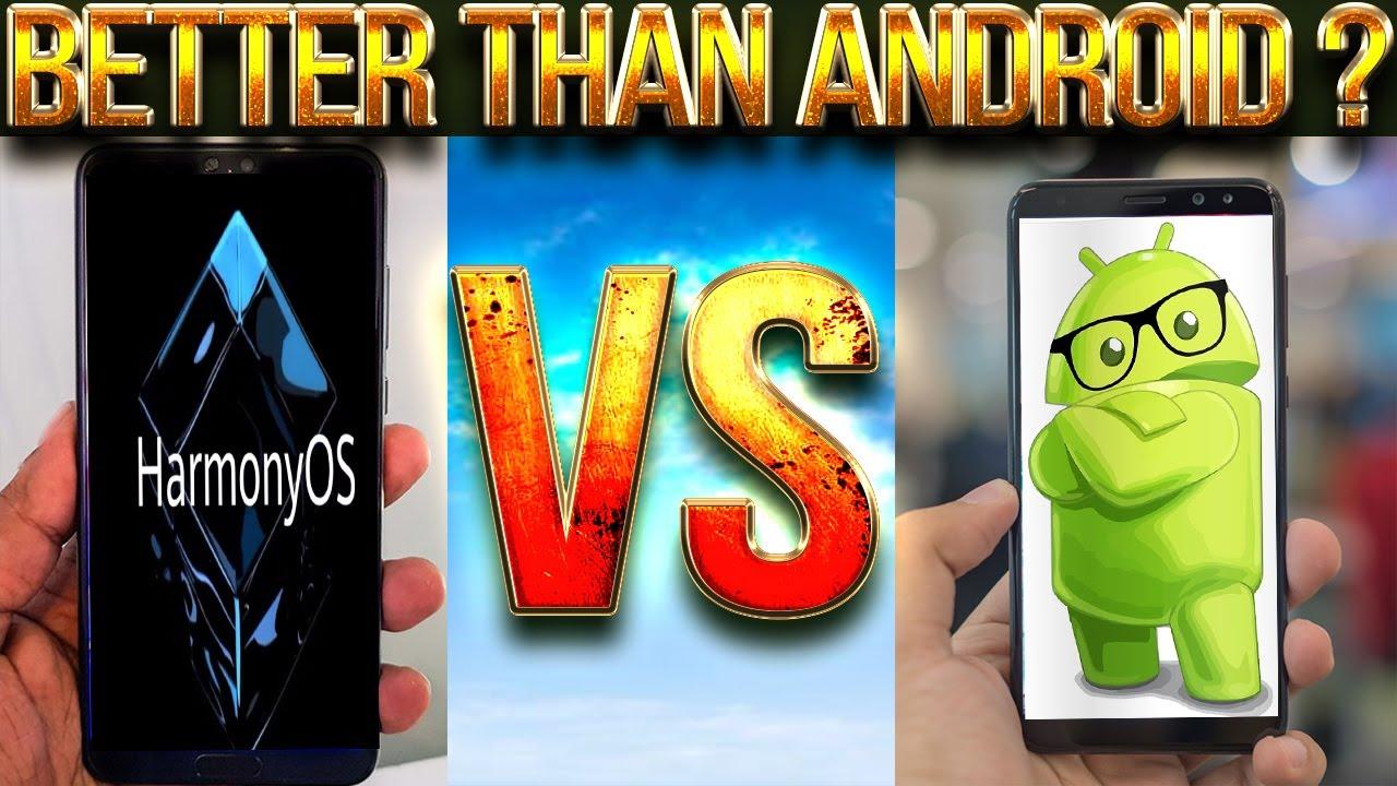 Harmony OS VS Android VS iOS