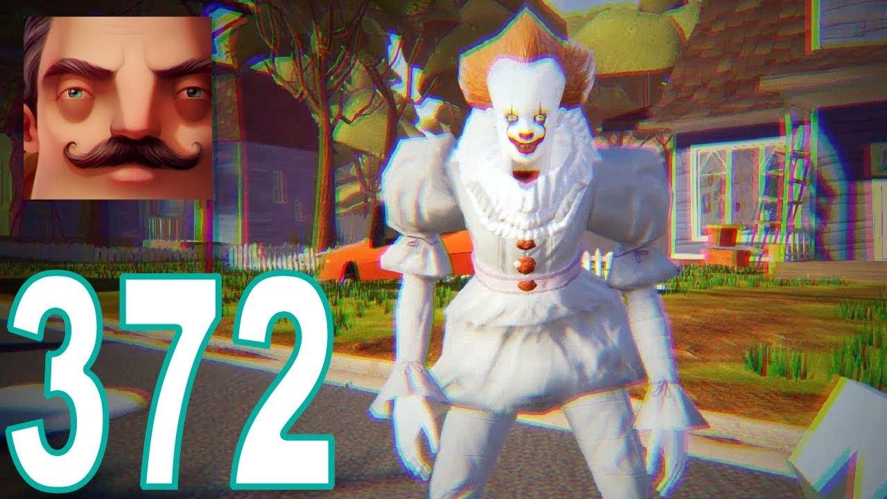 Hello Neighbor - My New Neighbor Pennywise - IT Act 1 Gameplay Walkthrough  Part 372
