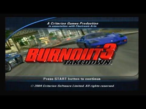 Crash Party Burnout 3 Takedown