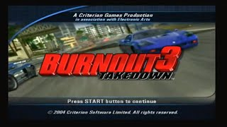 Crash Party Burnout 3 Takedown