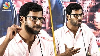 Vishal's Mass Reply to his Enemies | Angry Speech | Irumbu Thirai Success Celebration