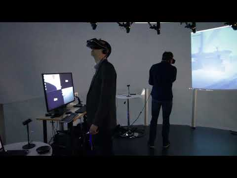 Scalable Simulation: VR Diver Demo - Offshore Simulator Centre