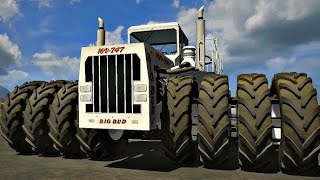 Biggest tractor in the world ( Big Bud 747 Tractor )