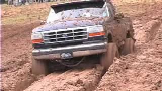 Mud Bog Deep Pit #2 Calhoun County Wood Festival 2010