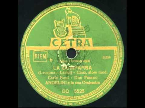 Carla boni duo fasano la cumparsa 1952 youtube for Angelini arredamenti fasano