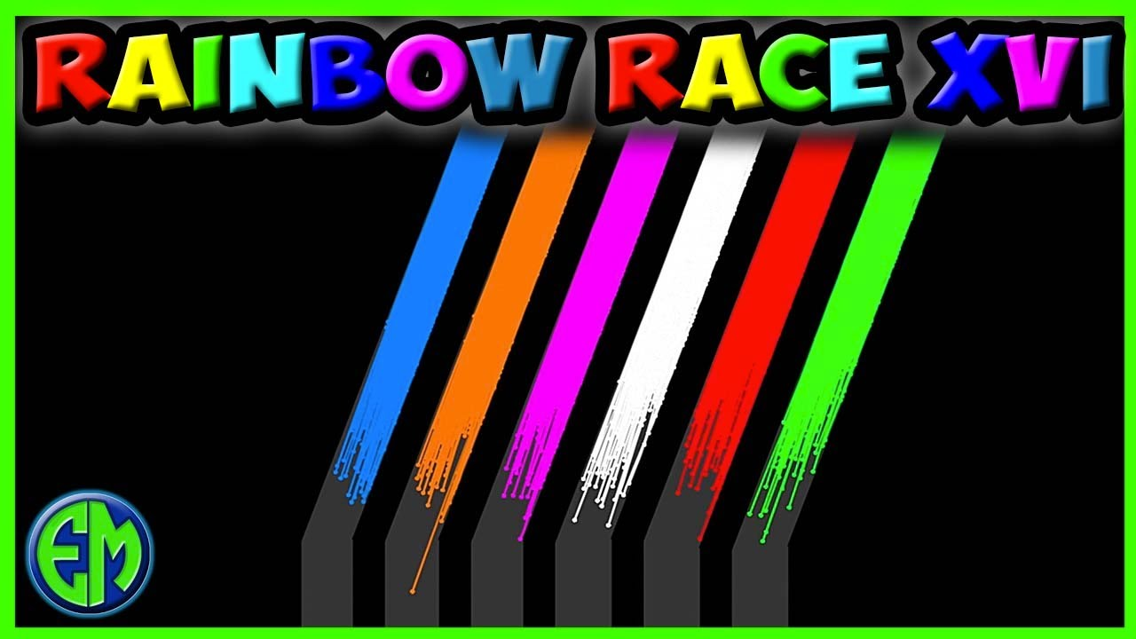 Rainbow! Marble Tube Run 16 - Most Oddly Satisfying Epic Marble Race