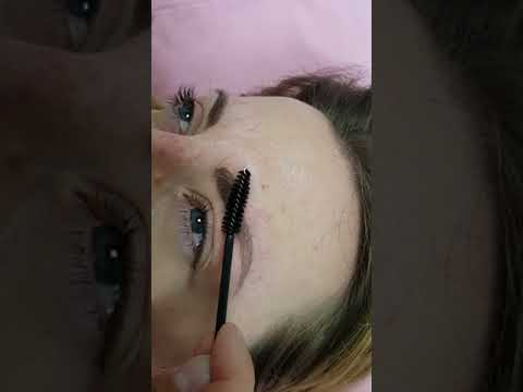 Healed Density Microblading Eyebrows after 1st session by El Truchan @ Perfect Definition