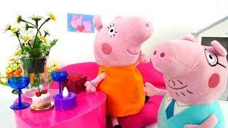 Мультик с игрушками - Свинка Пеппа онлайн - Сюрприз для Свинки