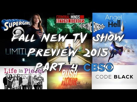 Fall New TV Show Preview 2015 - Part 4 CBS