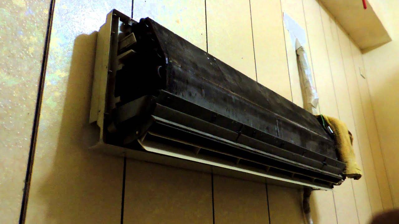 一對一分離式冷氣機清洗保養_代聖室內機清洗袋DIY...7 - YouTube