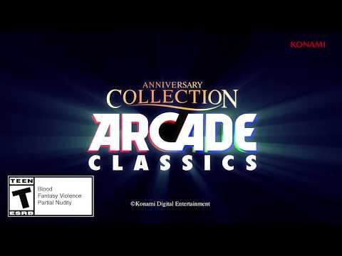 Konami Arcade Classics Anniversary Collection disponibile sugli store digitali
