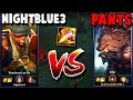 FINALLY FACING NIGHTBLUE3 IN THE JUNGLE FOR PROMOS!! - Challenger to RANK 1