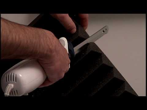Cutting Auralex® Studiofoam®