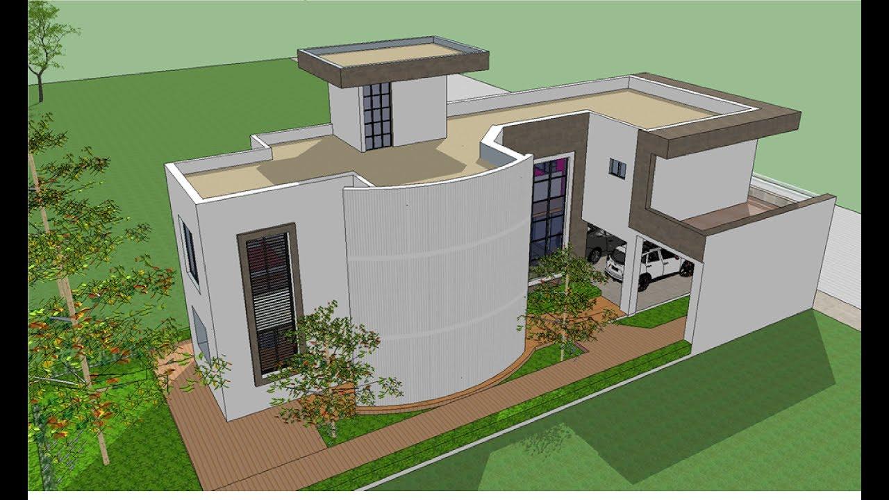 Planos de casas tres habitaciones en planta alta terreno for Planos de casas youtube