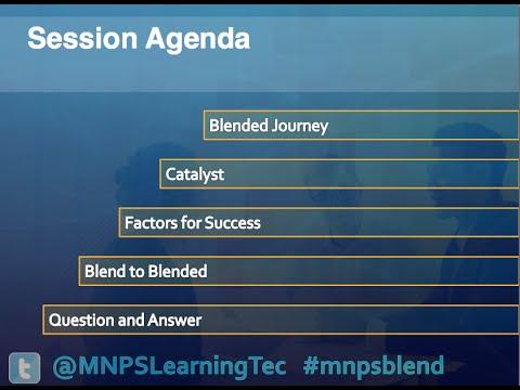 Breaking The Mold: Blending PD With Blackboard Learn