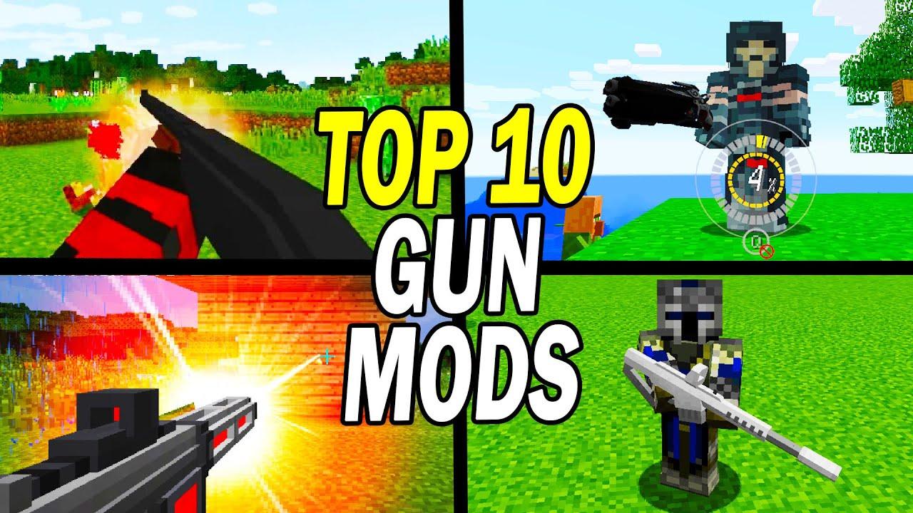 Minecraft Gun Mod Top Best Free Download Install List