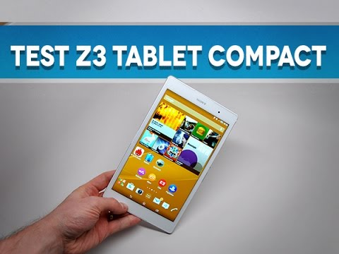 Test de la tablette Sony Xperia Z3 Compact - par Test-Mobile.fr