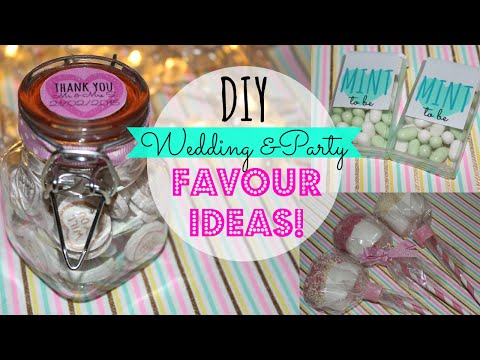 DIY Wedding Favours! Pinterest Inspired, Easy & Affordable -Wedding Series